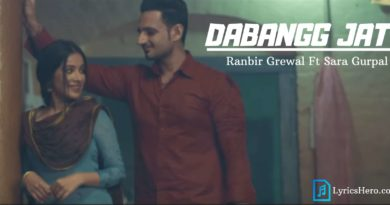Dabangg Jatt Lyrics