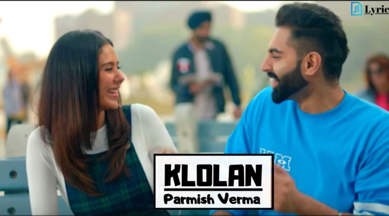 Klolan Lyrics In Hindi