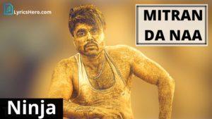 Mitran Da Naa Lyrics