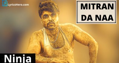 Mitran Da Naa Lyrics