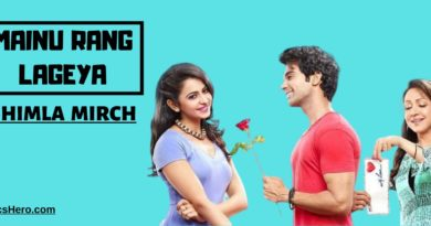 Mainu Rang Lageya Lyrics