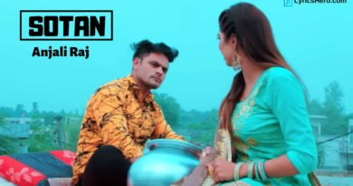 Sotan Lyrics, Sotan Song Lyrics
