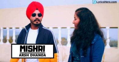 Mishri Lyrics, Mishri Song Lyrics