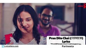 Pran Dite Chai Lyrics, Tomake Lyrics In English, Tomake Lyrics In Bengali, Tomake Hindi Version Lyrics, Mon Dite Chay Pran Dite Chai Lyrics, Tomake Lyrics In English Parineeta